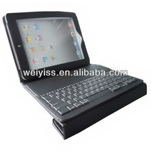 2013 new leather keyboard case 12 inch tablet
