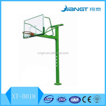 Inground outdoor basketball stand hoop for training