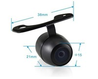 Mini CMOS Color 170 Degree Wide Angle View Car Rearview Camera
