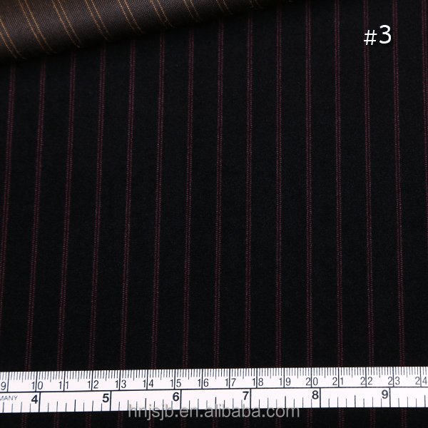 china haining factory made double color red stripe polyester velvet knitted fabric