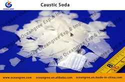 Factory price first class white color flakes peals solid form purity 96% and 99% sodium hydroxide and caustic soda