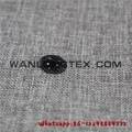 Waterproof polyester linen fabric factory china wholesaler