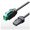 1* 8Pin 12V powered usb Cable For IBM 01l1636 Pos Terminal