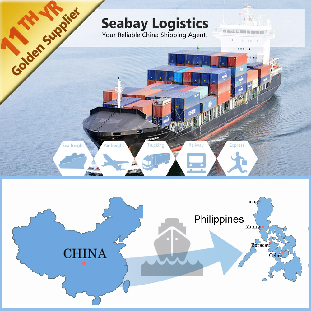 international sea freight shipping container price to philippines