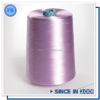 Free sample quality dyed 100 viscose rayon filament yarn 300d