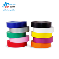 Rohs approved black pvc gum tape PVC electrical insulation tape