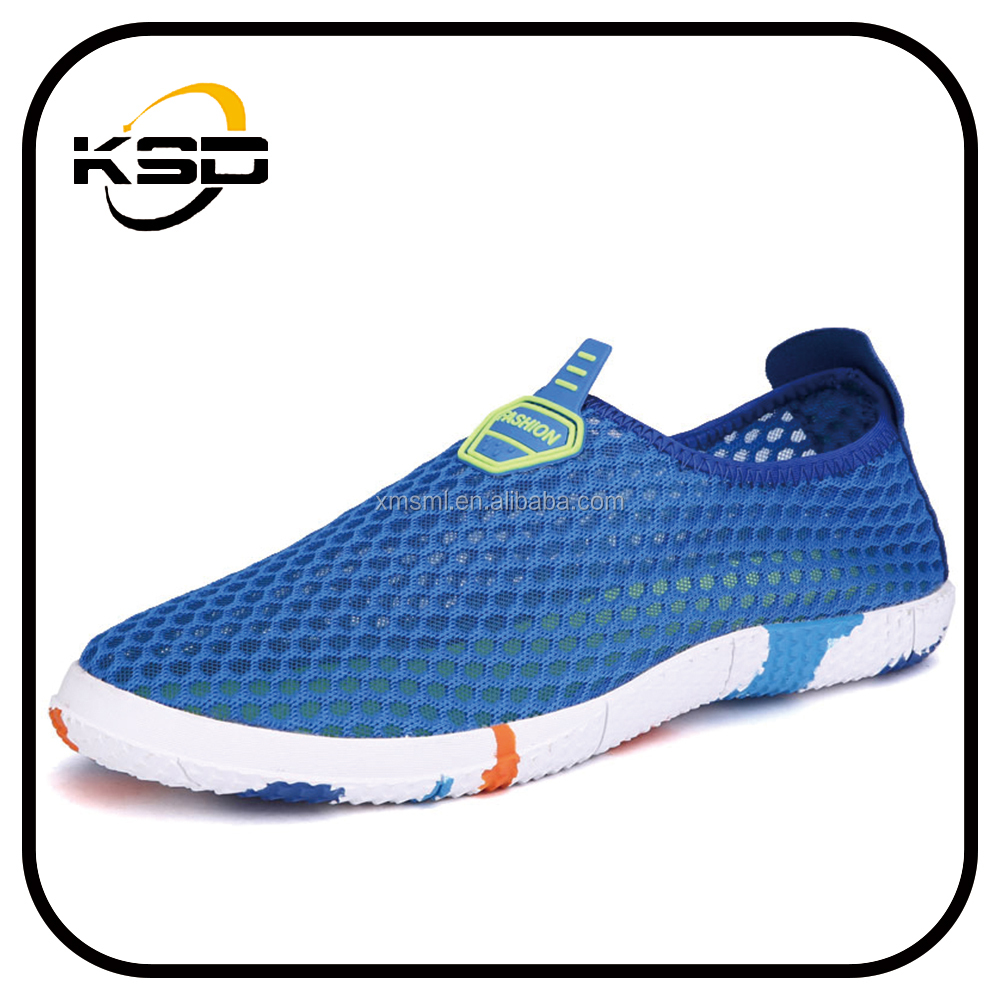 anti slip mesh tennis shoes for adults with three color