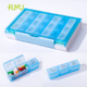 TS02B 21 Case Weekly 7 Day Pill Organizer with container moisture-proof and sealed, Medicine Pill Box Holder