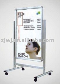 advertising A-BOARD posters frame double sided poster display stands