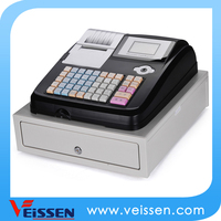 OEM provided keyboard electronic cash registers with wireless scanner