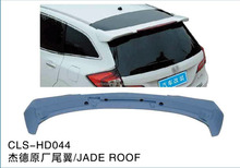 HD044 ABS car rear roof spoiler for HONDA JADE