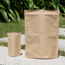 2015 china wholesale food plastic mini gift kraft paper bag for tea , coffee,snack