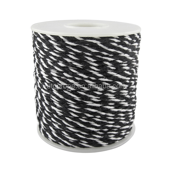Eco-friendly 4-ply cotton baker's twine for crafts