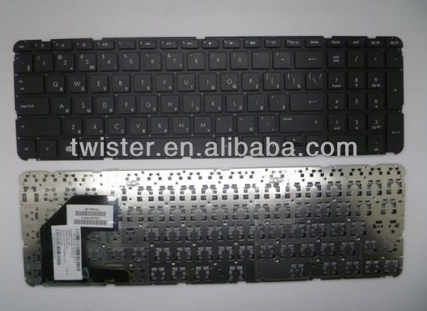 RU/Russian laptop keyboard for HP Sleekbook Ultrabook Pavilion 15 Black Keyboard PN 701684-001