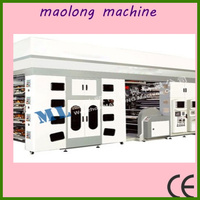 high degree of automation six colors flexography printing machine
