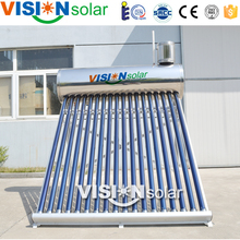 Aluminium alloy frame residential solar power water heater in long working life