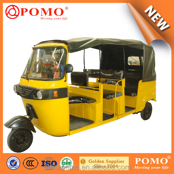 Air Cargo 3 Rows Seat 8 Passenger Three Wheel Car Auto Rickshaw for Sale in Pakistan