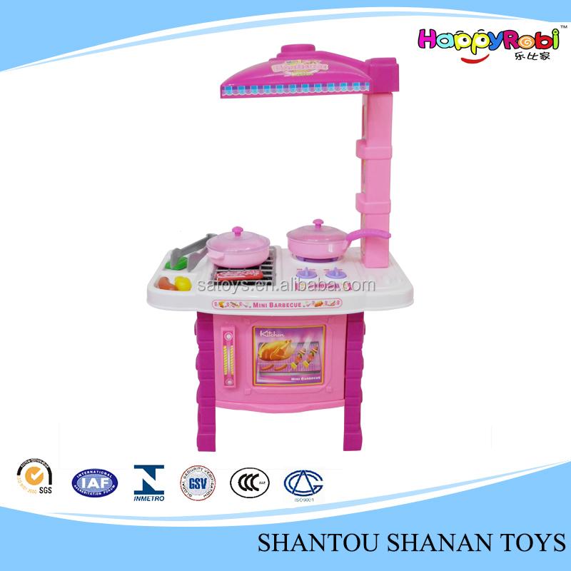 Wholesale plastic big kitchen set toy kids play kitchen for Cheap childrens kitchen sets