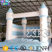 2017 New Finished wedding inflatable jumping bouncer / party inflatable jumper bed