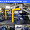 second hand plastic recycling machine