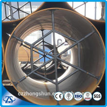 API 5L PSL2 X65 38 inch std MS welded SAW spiral steel pipe for oil with varnish painted made in China