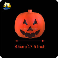 Halloween props china large plastic pumpkin