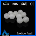 1 inch pp plastic hollow rubber ball