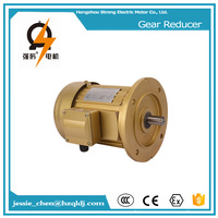 1/2 HP, 400W small speed reducer gear electric motor