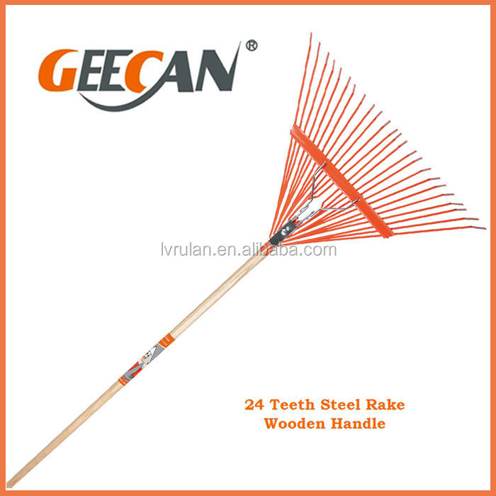 Best selling wooden handle garden rake