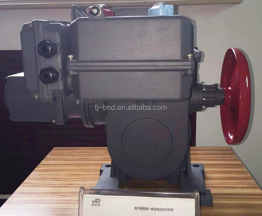 OA-10K30H 4-20ma flow control electric rotary valve actuator