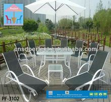 outdoor bamboo like dinning set