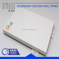 Polyester painted metal aluminum interior wall panel 3003 1100 H24