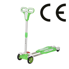 YouPai new Cheap portable 4 Light up Wheel Two Pedal Kids frog Modern Self Propelled scooter