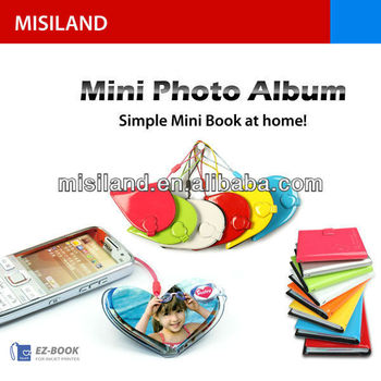 DIY Ezbook Mini Photo Album big heart
