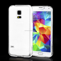 Transparent Clear Soft Gel TPU Case For Samsung Galaxy S5 Mini