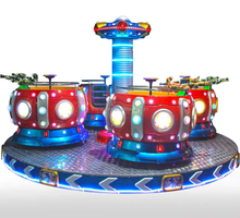 Amusement park rides rotating coffee cup rides equipment