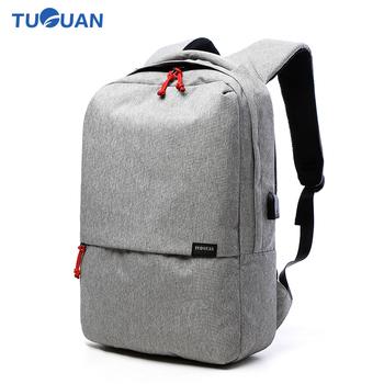 Tuguan Women Men Laptop Notebook Backpacks Brand Backpack Casual School  College Student Bag External USB Charge d7538c886d