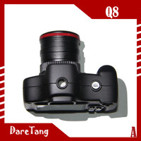 Factory Direct HD 720P 120 degree wide angle lens 1.5 inch Q8 mini dv