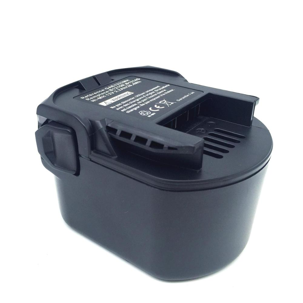 Batterie 12v 3300mah remplace Atlas Copco AEG Milwaukee