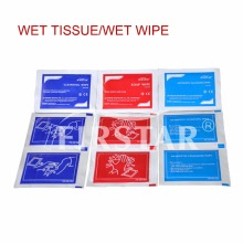 Convinient auto wet and dry wipes