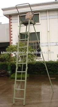 Hunting tree stand/Freestanding hunting tree ladder/Folding hunting tree stand