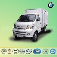 sinotruk cdw1650mm single cabin refrigerated van and truck in dubai