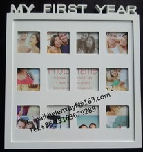 My first year 12 months baby photo frame