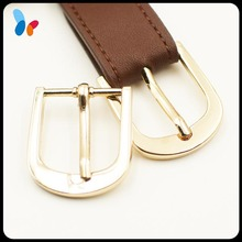 wholesale light golden zinc alloy metal pin buckle for watch