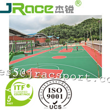 outdoor polyurethane sports flooring for basketball flooring