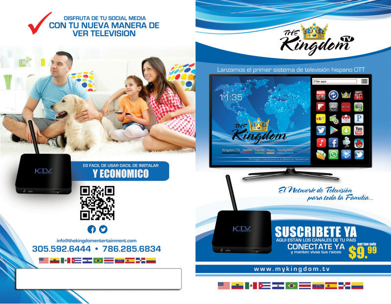Learn Spanish watching spanish IPTV Networks with an ANDROID SET TOP BOX