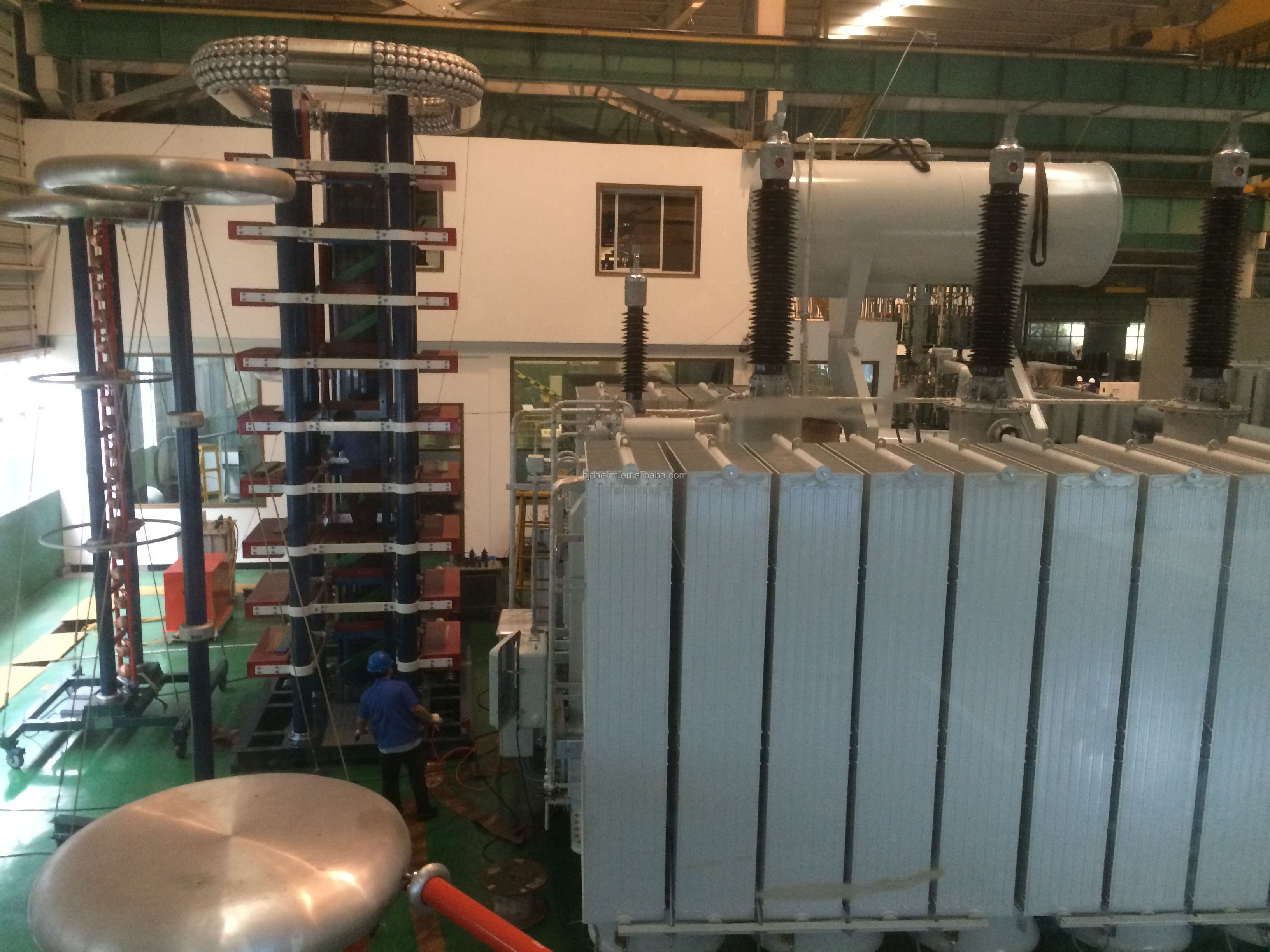 china 3 phase 2 winding 220kv 250 mva power transformer