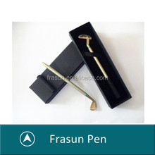 One piece putting CUSTOMIZED LOGO company gift creative novelty golf club pens
