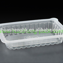 Food Grade Sealable Rectangle Small Plastic Food Container