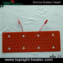 CE Certification 1500W Silicone Flexible Heater Drum Heating Element